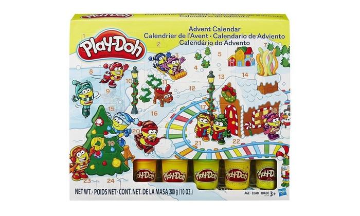 Groupon Calendario.Play Doh Advent Calendar