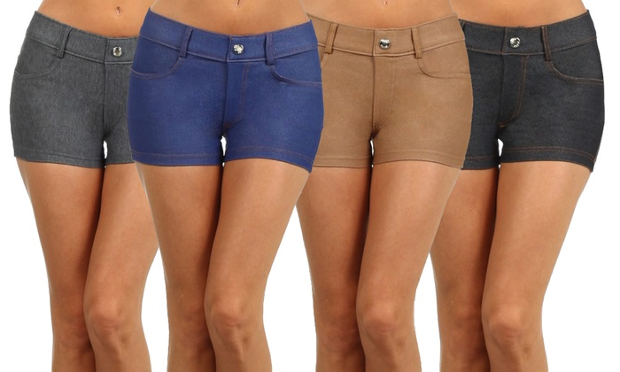 Women's Jeggings Shorts (3-Pack)