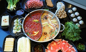 Little Sheep Mongolian Hot Pot: Hot-Pot Cuisine at Little Sheep Mongolian Hot Pot (45% Off). Two Options Available.
