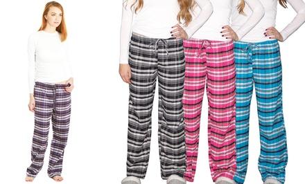 Women's Flannel Lounge Pants (3-Pack)