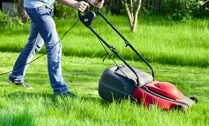 image for One or Two Lawn-Mowing Services from Chuck's <strong>Landscaping</strong> (Up to 52% Off)
