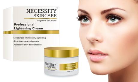 Necessity Skincare Professional Lightening Facial Cream (1 Fl. Oz.)