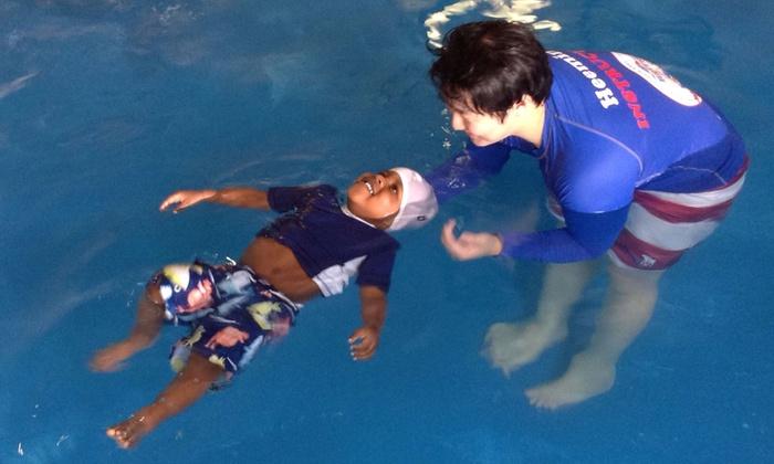British Swim School - Elmhurst: Four Weeks of Swim Lessons from British Swim School (54% Off)