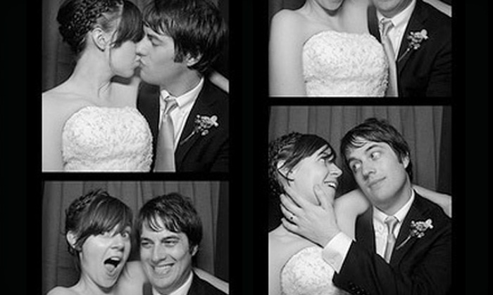 PhotoClick-Photo Booth - Chicago: Photo-Booth Rental with Unlimited Prints for Up to Four or Five Hours from PhotoClick-Photo Booth (Up to 54% Off)