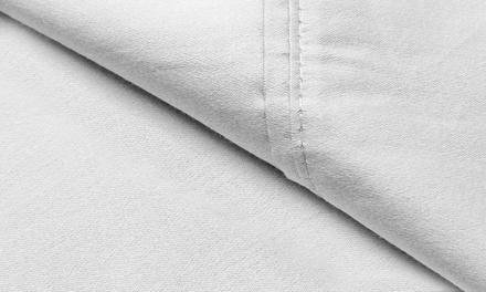 800 TC Cotton-Rich Solid Sheet Set (6-Piece)