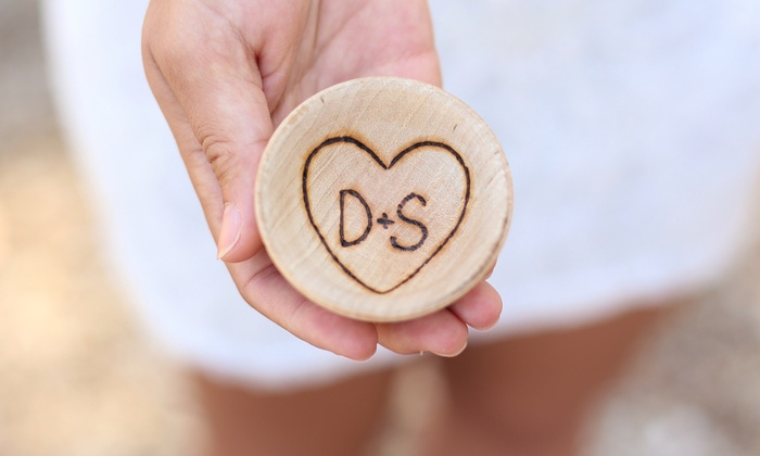 Morgann Hill Designs: One or Two Personalized Wooden Ring Bowls at Morgann Hill Designs (Up to 62% Off)