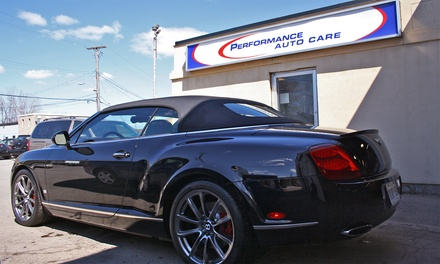 VIP Auto Detail Package for a Car, SUV, or Truck at Performance Auto Care (Up to 59% Off)