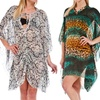 G Collection Ladies' Printed Beach Cover-Ups