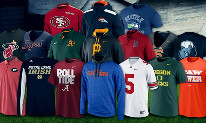 Fanatics: $15 for $25 Worth of Licensed Sports Apparel from Fanatics