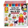 Alex Toys Ready, Set, Write & Wipe: ABC & 123 Writing Activity Book