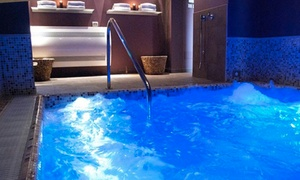 RE AQVA SPA: Percorso di coppia, massaggio, cena e camera day use da Re Aqva Spa (sconto fino a 65%)