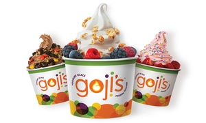 Gojis Frozen Yogurt: CC$7 for CC$12 Worth of Frozen Yogurt at Gojis Frozen Yogurt