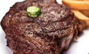 Old 60 Steaks & Chops: Steakhouse and Diner Food at Old 60 Steaks & Chops (Up to 45% Off). Two Options Available.
