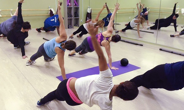 ACROSS THE FLOOR - Woodbridge Township: 10 Fitness Classes or One Month of Unlimited Fitness Classes at Across the Floor (Up to 55% Off)