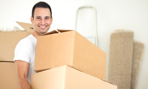 Prestige Movers: Two Hours of Moving Services with Two Movers and Supplies from Prestige Movers (50% Off)