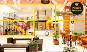 Espaço das Crianças - Shopping SP Market: Até 3 horas de recreação infantil no Espaço das Crianças –2 endereços