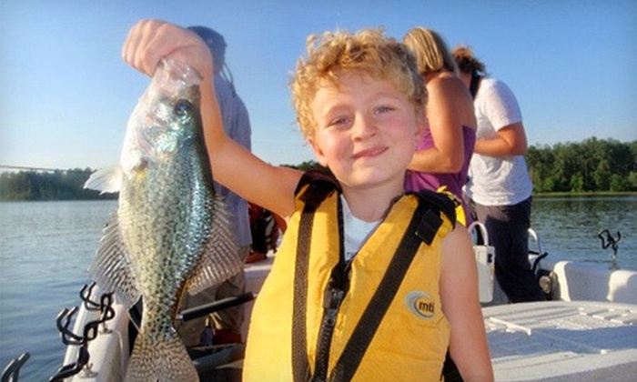 Greggofish Guide Service - Boat Ramp: $120 for a 2.5-Hour Family Fishing Trip for Four from Greggofish Guide Service ($300 Value)
