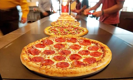 Pizza, Pasta, and Salad Buffet for Two or Four at Cici's Pizza (46% Off)