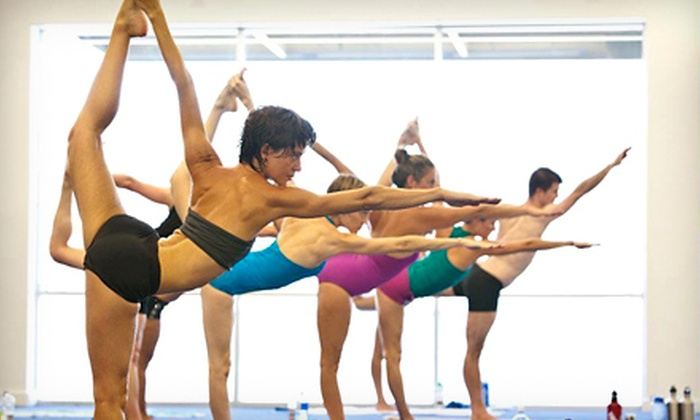 Pure Yoga Austin - Multiple Locations: Punch Card for 5 or 10 Classes at Pure Yoga Austin (Up to 63% Off)