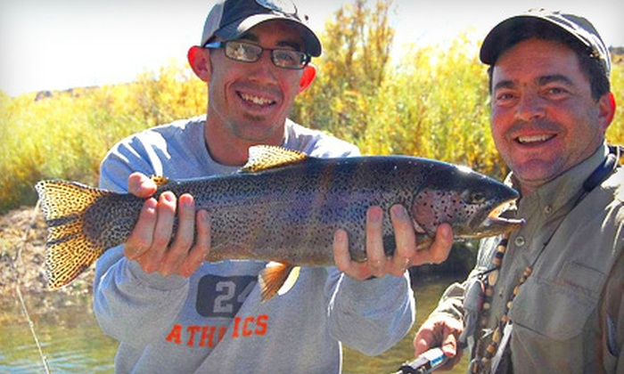 Rainbow Lodge & Resolution Guide Service - San Juan River : $199 for a Full-Day Fly-Fishing Tour for Two from Rainbow Lodge & Resolution Guide Service in Navajo Dam ($400 Value)