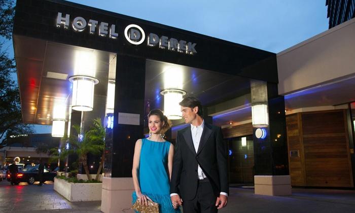 Hotel Derek - Galleria/River Oaks: $1,999 for the Ultimate Valentine's Day Package for Two at Hotel Derek ($3,000 Value)