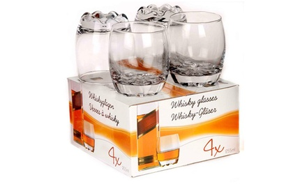 Four or Eight 255ml Whisky Tumblers from £4.99 (Up to 78% Off)