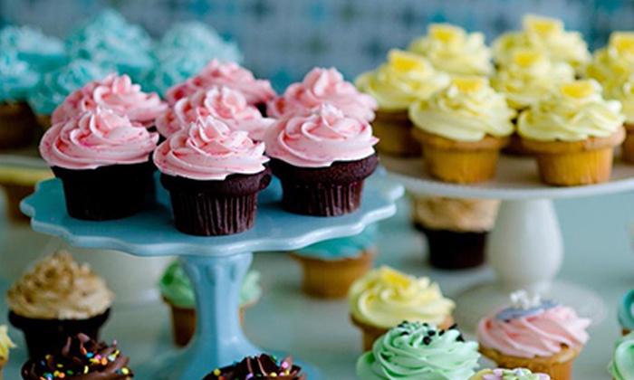 Cupcakes by Heather & Lori - Kitsilano: $7 for One Dozen Preassorted Mini Cupcakes at Cupcakes by Heather & Lori ($14 Value)