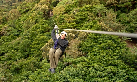 Zipline Adventure with Photos at Markin Farms Zipline Adventures (Up to 51% Off). Two Options Available.