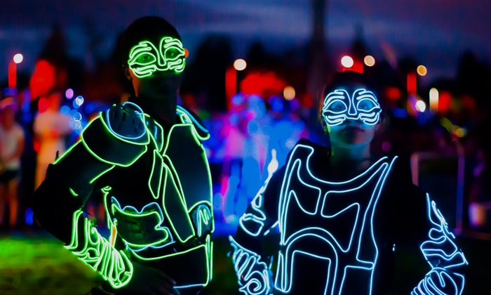 4US - Fort Steilacoom Park: Entry for One or Two to the Luma Glow Fun Run on Friday, August 14 from 4US (40% Off)