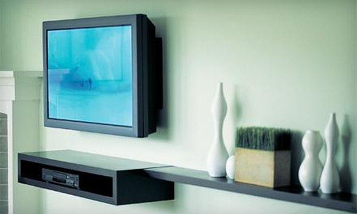 Local Service Jobs - Raleigh / Durham: TV Wall Mounting with Hidden Wiring from Local Service Jobs (50% Off)