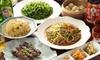 東京都/御徒町 ≪エビチリ・特製羊肉串焼きなど8品+120分飲み放題≫