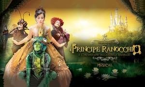 Equipe Eventi: Il Principe Ranocchio - lo spettacolo di Melina Pellicano al Teatro di Varese il 14 febbraio, ore 17 (sconto 40%)