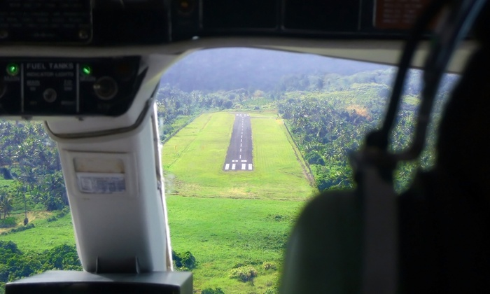 Flight Training A to Z - East Farmingdale: Airplane Thrill Ride for One or Two from Flight Training A to Z (50% Off). Four Options Available.