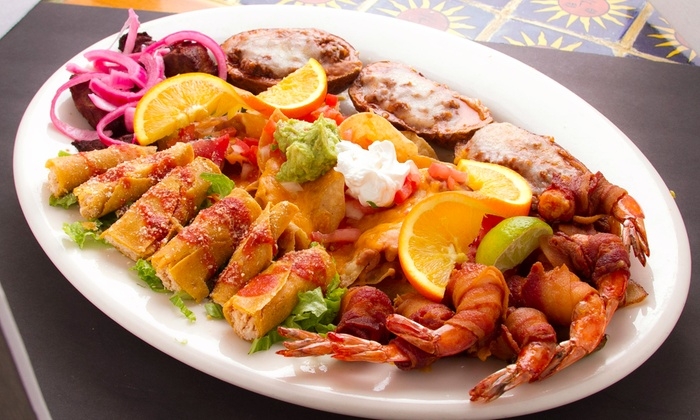 Margarona Mexican Bar & Grill - East Forest: Mexican Food for Two or More at Margarona Mexican Bar & Grill (45% Off)