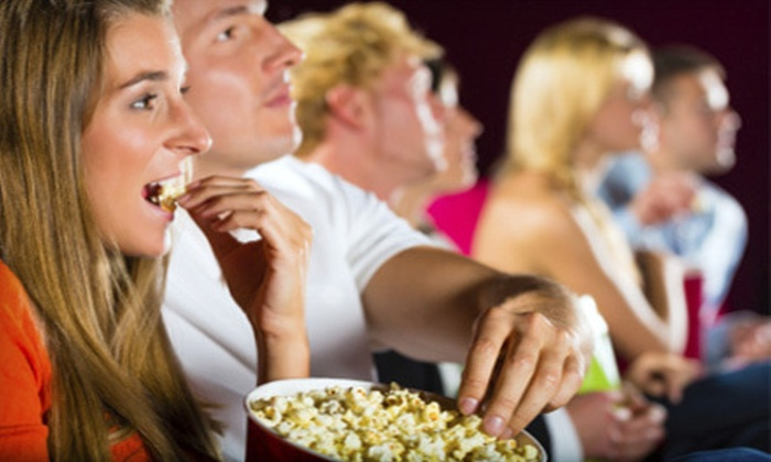 The Edge - Crestwood South: Movie and Popcorn for Two or Four at The Edge (Half Off)