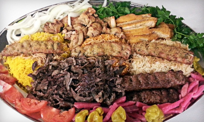Ali Baba Family Restaurant - Central Escondido: Mediterranean Food and Drinks at Ali Baba Family Restaurant (Up to Half Off). Two Options Available.