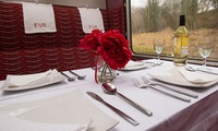 Three-Course Heritage Train Dinner For Two or Four with Ecclesbourne Valley Railway (27% Off)
