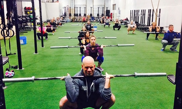 Old Line CrossFit - Gambrills: One Month of Unlimited Classes or Two Classes Per Week for One Month at Old Line CrossFit (Up to 74% Off)