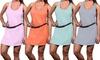 Women's Cotton Racerback Dresses: Women's Cotton Racerback Dresses