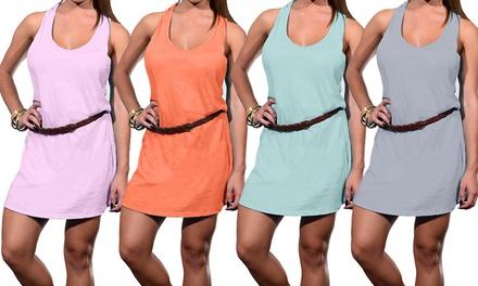 Women's Cotton Racerback Dresses