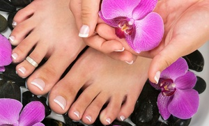 Polish'd Nails: One or Two Mani-Pedis or a Manicure with a Jelly Pedicure at Polish'd Nails (Up to 53% Off)