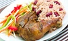 College Park Reggae Fridays - College Park: Party Cover and Jamaican Buffet for Two or Four at College Park Reggae Fridays (Up to 54% Off)