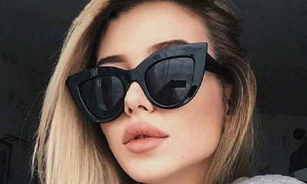 Cat Eye Oversized Sunglasses