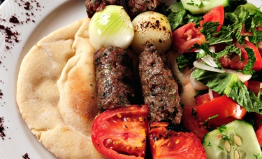 Moroccan dinner for 2 with wine horus cafe on a groupon for Anatolian cuisine