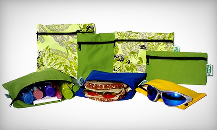 Re-Pac Bags: *HG2* (1 OPTION) $15 for $30 Worth of Eco-Friendly, Reusable Bags from Re-Pac Bags