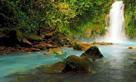 groupon daily deal - 3-, 4-, or 5-Night Costa Rica Trip for Two with Arenal Volcano Package from Ecoterra