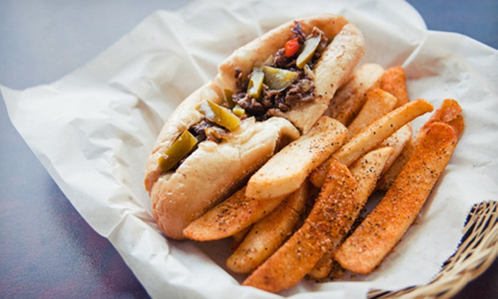 The Cheese Steak Shop - Downtown: $12 for Four Groupons, Each Good for $6 Worth of Cheesesteaks and Sandwiches at The Cheese Steak Shop ($24 Total Value)
