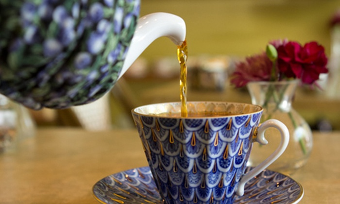 Tea Time San Francisco - University South: $47 for a Tea- and Food-Pairing for Two at Tea Time in Palo Alto ($95 Value)