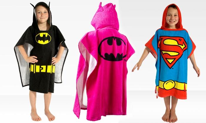 Children's Cartoon Hooded Ponchos: Children's Cartoon Hooded Bath Ponchos. Multiple Styles Available. Free Returns.