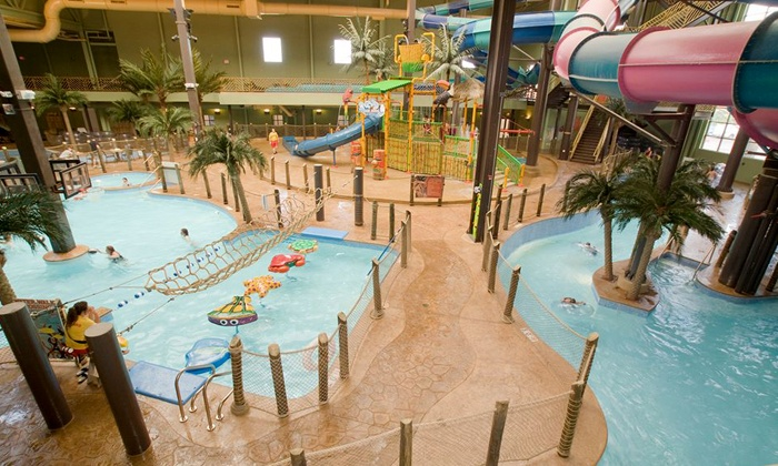 Maui Sands Resort & Indoor Waterpark - Sandusky, OH: One-Day Visit for One, Two, or Four to Maui Sands Resort & Indoor Waterpark (Up to 61% Off)